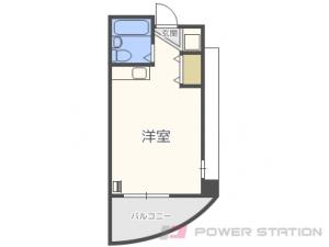 札幌市中央区南14条西15丁目1賃貸マンション間取図面