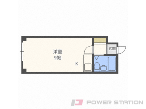 札幌市中央区南14条西13丁目1賃貸マンション間取図面