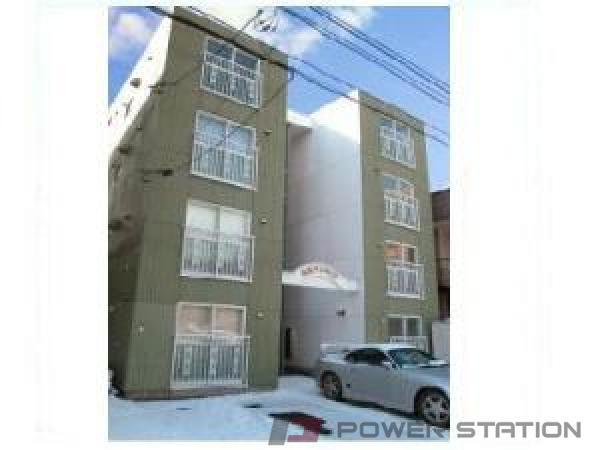 札幌市中央区南13条西9丁目1賃貸マンション外観写真