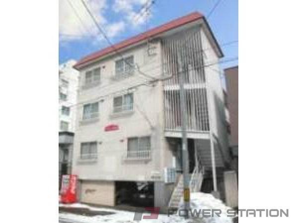 札幌市中央区南13条西8丁目0賃貸マンション外観写真