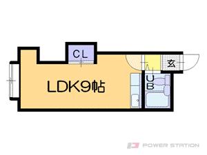 札幌市中央区南13条西8丁目0賃貸マンション間取図面