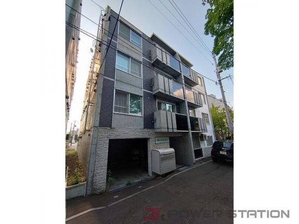 札幌市中央区南15条西6丁目0賃貸マンション外観写真