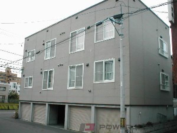 札幌市中央区南17条西13丁目1賃貸アパート外観写真