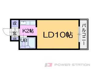 札幌市中央区南15条西8丁目1賃貸マンション間取図面