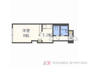 札幌市中央区南19条西12丁目0賃貸マンション間取図面