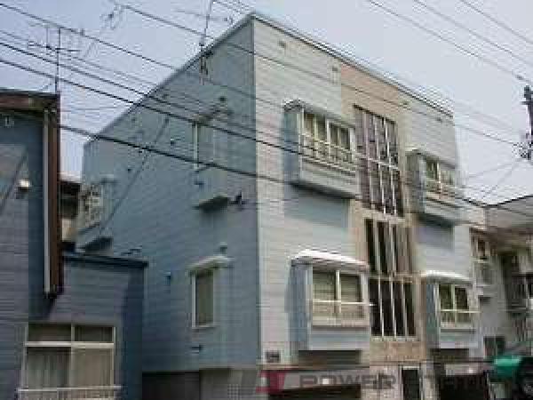 札幌市中央区南19条西15丁目0賃貸アパート外観写真