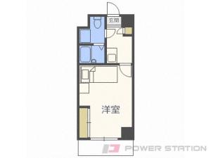 札幌市中央区南19条西13丁目0賃貸マンション間取図面