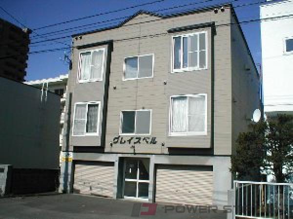 札幌市中央区南20条西13丁目0賃貸アパート外観写真