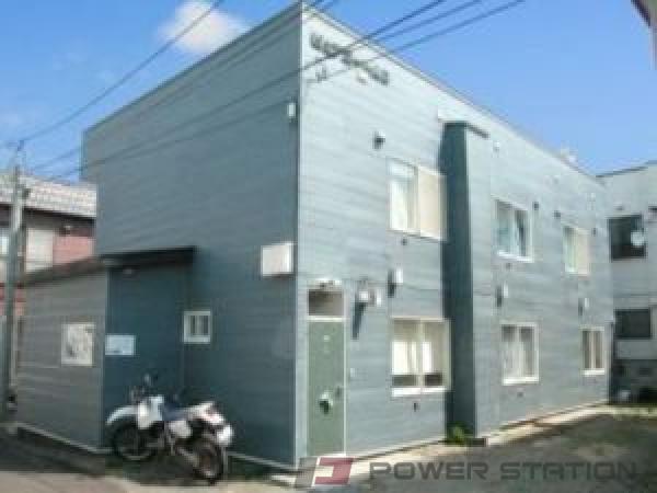 札幌市中央区南20条西7丁目0賃貸アパート外観写真