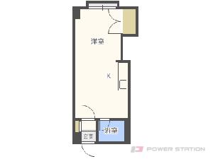札幌市中央区南24条西11丁目0賃貸マンション間取図面
