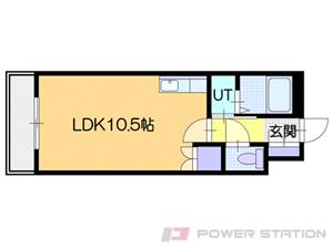 札幌市中央区南23条西9丁目0分譲リースマンション間取図面