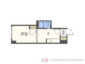 札幌市中央区宮の森3条5丁目0賃貸マンション間取図面