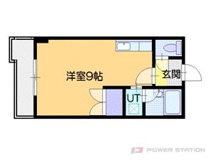 札幌市中央区南27条西11丁目0賃貸マンション間取図面