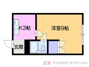 札幌市中央区南29条西11丁目0賃貸マンション間取図面
