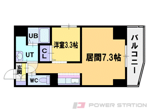 札幌市中央区北4条西13丁目1賃貸マンション間取図面