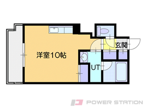 札幌市中央区南5条東2丁目1賃貸マンション間取図面