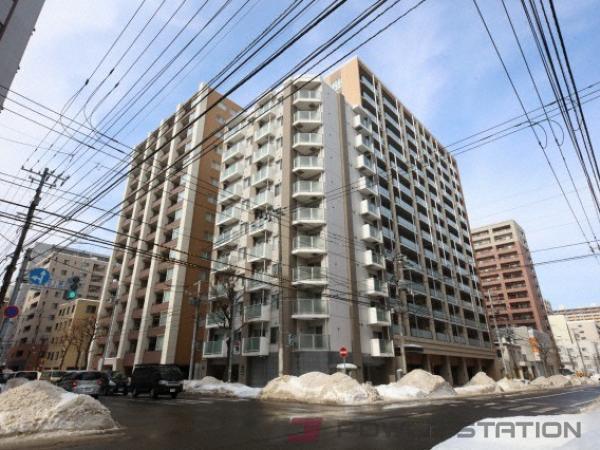 札幌市中央区北2条東2丁目1分譲リースマンション外観写真