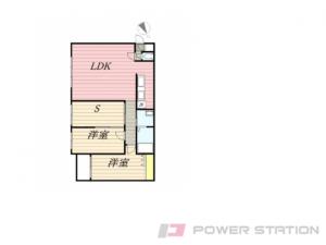 札幌市中央区宮の森3条4丁目1分譲リースマンション間取図面