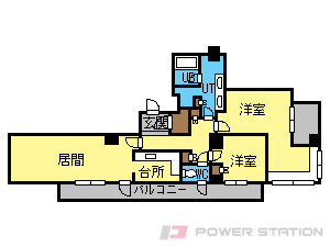 札幌市中央区大通西6丁目0賃貸マンション間取図面