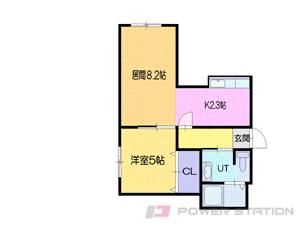 札幌市中央区北11条西15丁目0分譲リースマンション間取図面