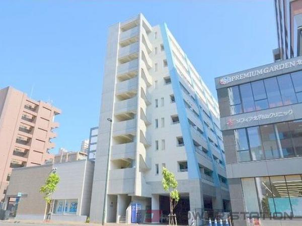 札幌市中央区北4条西18丁目0賃貸マンション外観写真