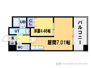 札幌市中央区北4条西18丁目0賃貸マンション間取図面