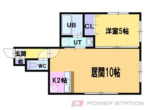 札幌市中央区南6条西8丁目1賃貸マンション間取図面