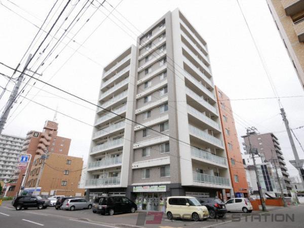 札幌市中央区南10条西12丁目1賃貸マンション外観写真