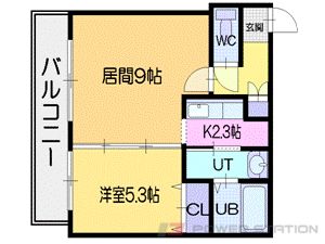 パワービル円山:TYPE-D