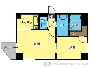 札幌市中央区南20条西12丁目0賃貸マンション間取図面