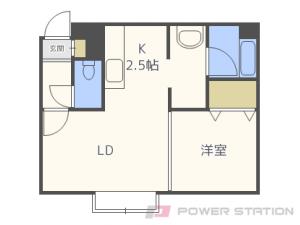 札幌市中央区北2条東12丁目0賃貸マンション間取図面