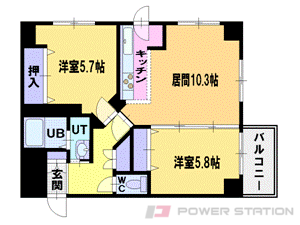 札幌市中央区南3条西1丁目1賃貸マンション間取図面