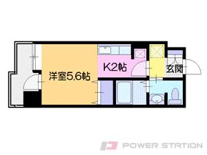 札幌市中央区南4条西10丁目0賃貸マンション間取図面