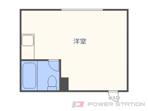 札幌市中央区北13条西15丁目0賃貸マンション間取図面