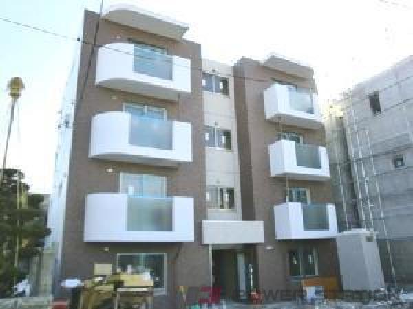 札幌市中央区南7条西16丁目0賃貸マンション外観写真