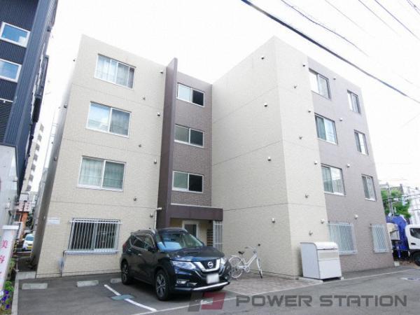 札幌市中央区北7条西15丁目0賃貸マンション外観写真