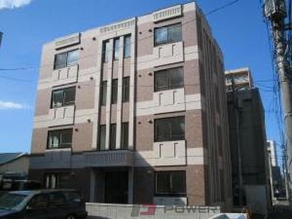 札幌市中央区南11条西13丁目0賃貸マンション外観写真