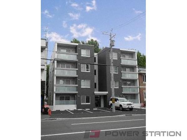 札幌市中央区北7条西18丁目0賃貸マンション外観写真