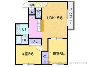 札幌市中央区南5条西14丁目0賃貸マンション間取図面