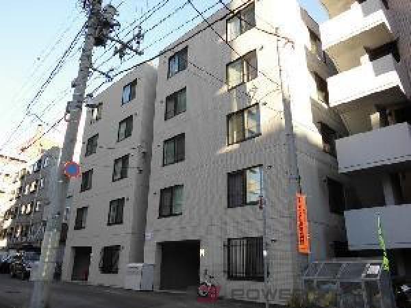 札幌市中央区南5条西9丁目0賃貸マンション外観写真