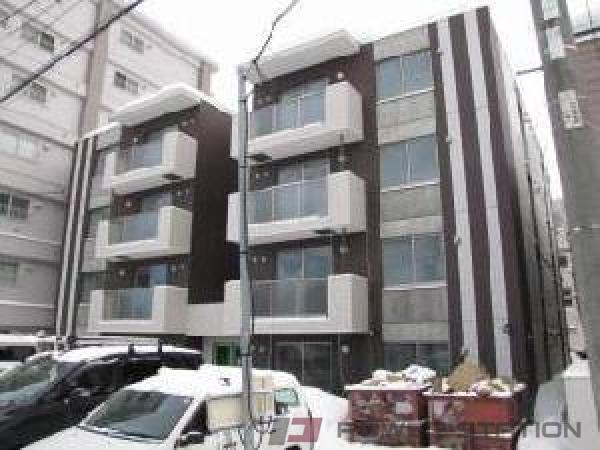 札幌市中央区南16条西19丁目0賃貸マンション外観写真