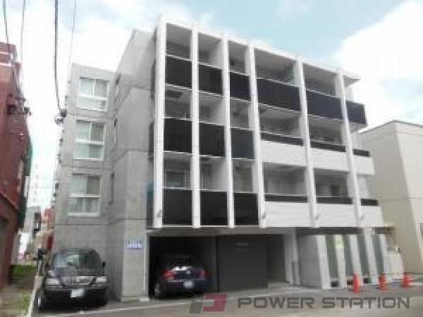 札幌市中央区南8条西8丁目1賃貸マンション外観写真
