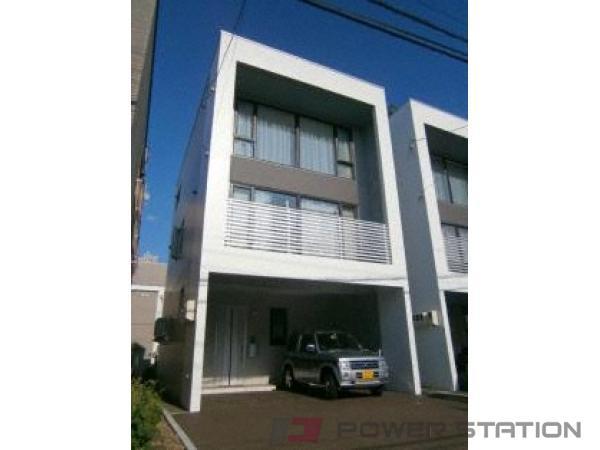 札幌市中央区南12条西9丁目1一戸建貸家外観写真