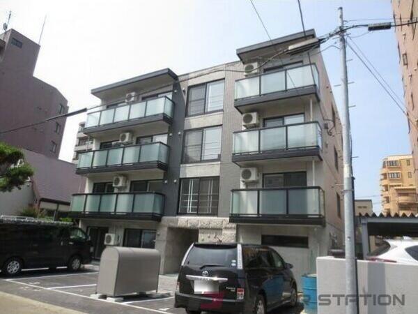 札幌市中央区南4条西25丁目0賃貸マンション外観写真