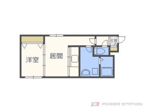 札幌市中央区南15条西6丁目1賃貸マンション間取図面