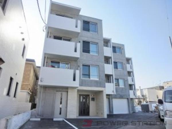 札幌市中央区北3条西26丁目0賃貸マンション外観写真