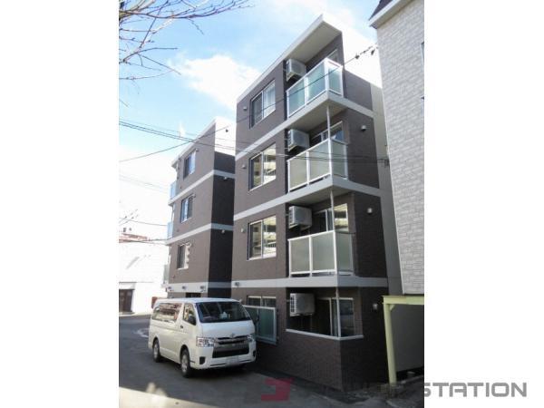 札幌市中央区南7条西26丁目0賃貸マンション外観写真