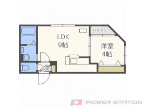 札幌市中央区南7条西26丁目0賃貸マンション間取図面