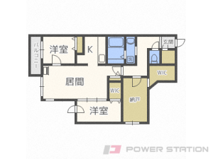 札幌市中央区南11条西12丁目0賃貸マンション間取図面