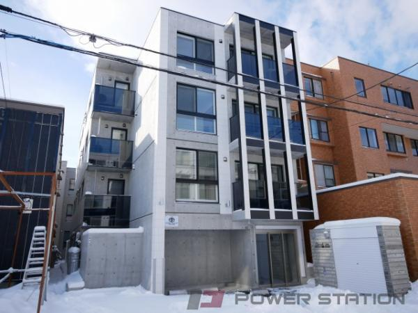 札幌市中央区宮の森3条5丁目0賃貸マンション外観写真